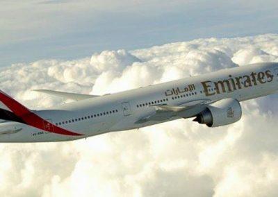 EMIRATES | Y su vuelo inaugural