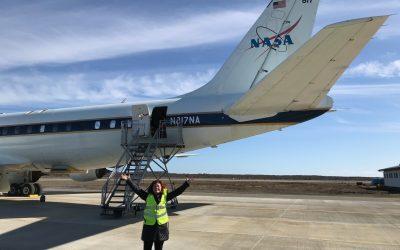 NASA | Sobrevuelo en la Antártica