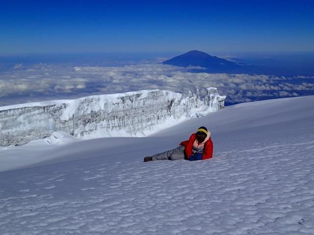 (69) Dia 5, John Con Glaciares De Fondo Y Monte Meru