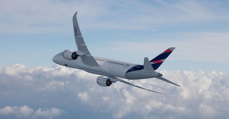 DESDE CHARLESTON | La maravilla del Boeing Dreamliner 787-9 de LATAM