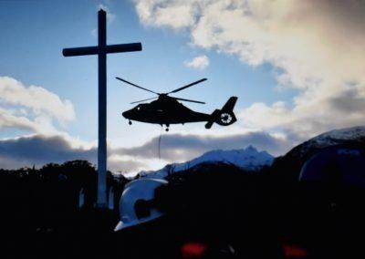 EN BAHIA FORTESCUE | Cruz conmemora primera misa en Chile