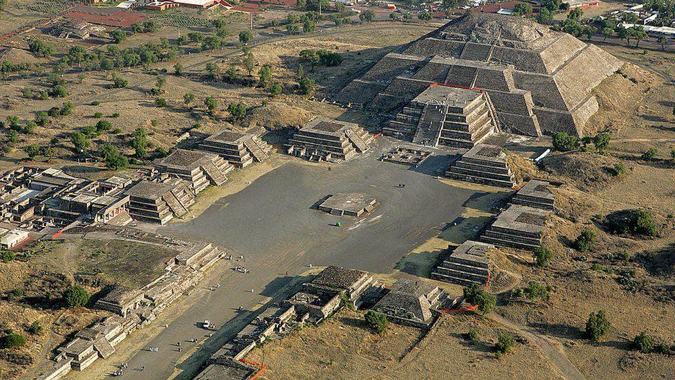 TEOTIHUACAN   Tesoro arqueológico de Mesoamérica